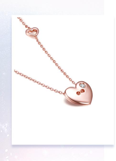 Full love系列钻石项链
